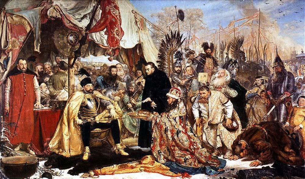 Jan Matejko, Stefan Batory pod Pskowem, 1872 r.